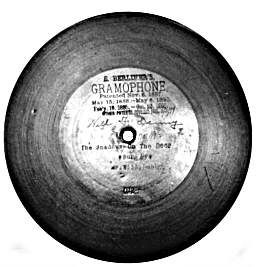 Original Berliner record