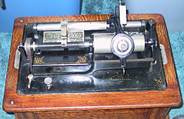 Antique Edison Phonograph Models