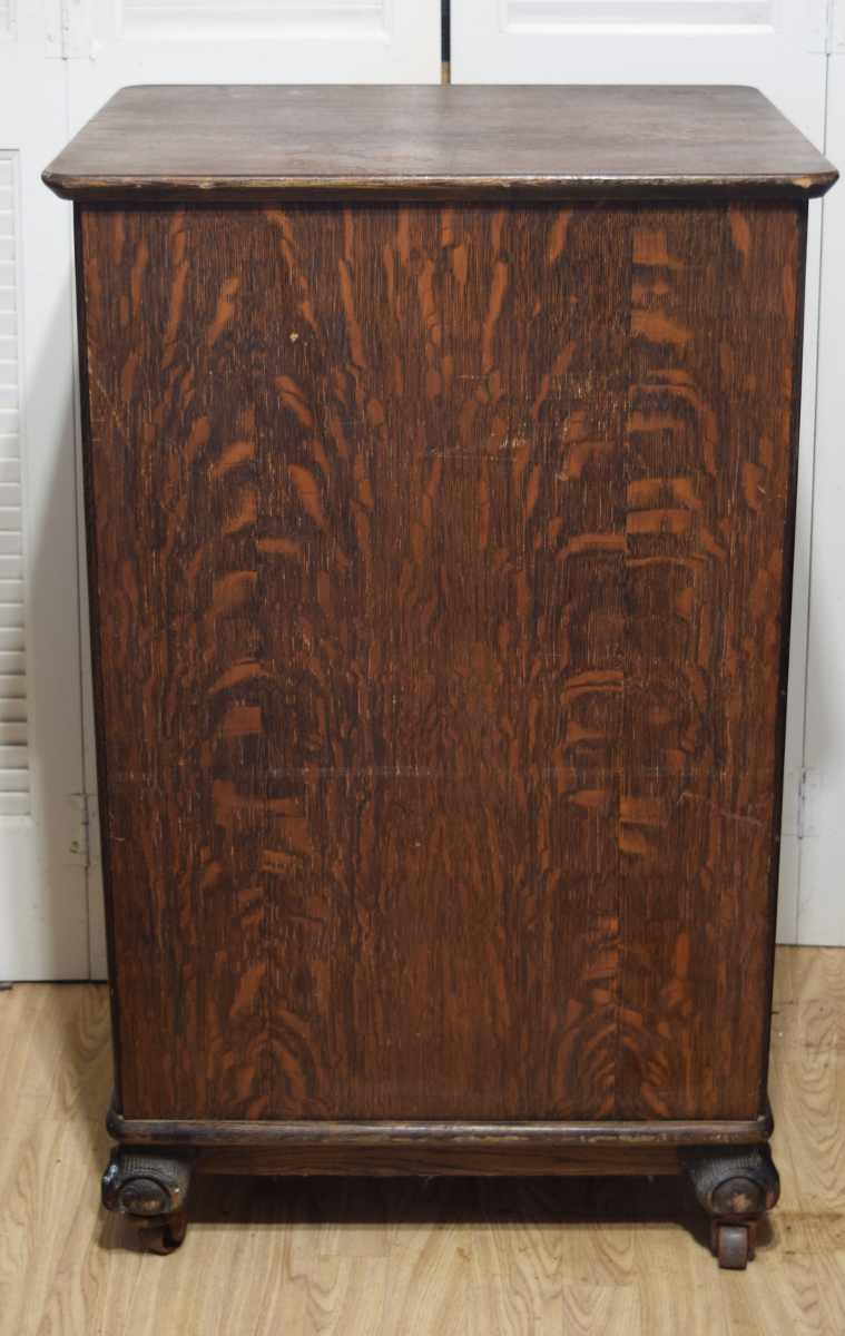 Giant Edison cylinder record cabinet for sale
