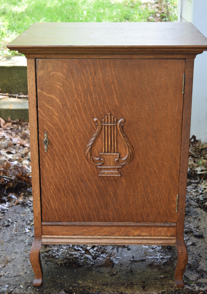 Base cabinet for Regina and other music boxes