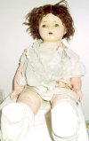 an image of Madame Hendren Dolly Rekord Phonograph doll - unrestored