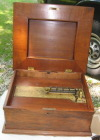 an image of 15 1/2 inch Polyphon music box - unrestored