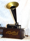 an image of Edison Standard Phonograph With Banner Decal