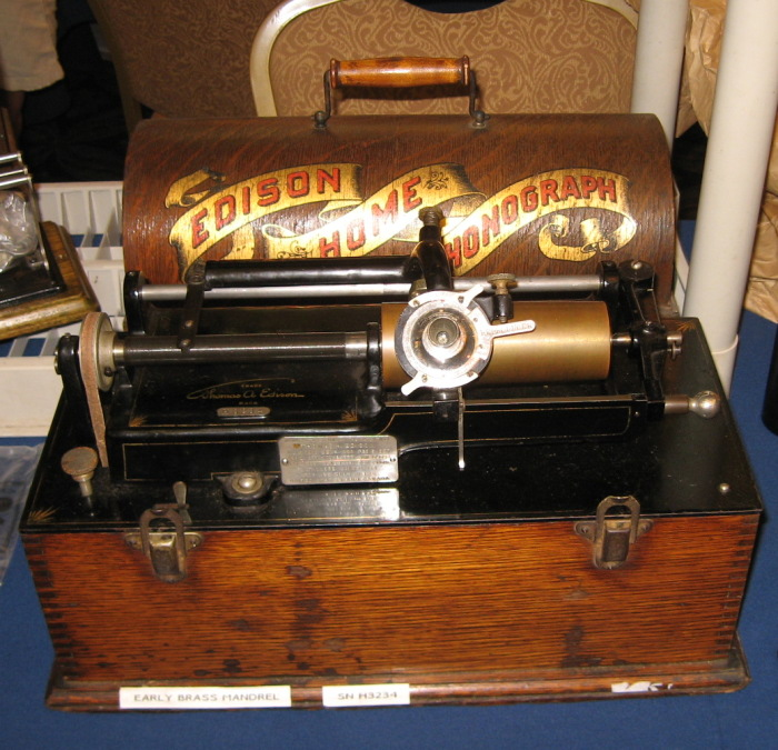 Edison Home Phonograph Model A First Version